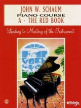 Omslag - Piano Course a Book (Red)