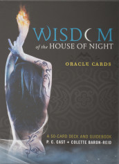 Wisdom of the House of Night Oracle Cards av Colette Baron-Reid og P.C. Cast (Undervisningskort)