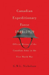 Omslag - Canadian Expeditionary Force, 1914-1919