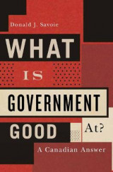 Omslag - What is Government Good at?
