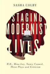Omslag - Staging Modernist Lives