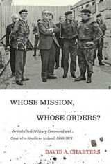 Omslag - Whose Mission, Whose Orders?