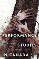 Omslag - Performance Studies in Canada