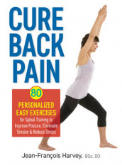 Cure Back Pain: 80 Personalized Easy Exercises for Spinal Training av Jean-Francois Harvey (Heftet)