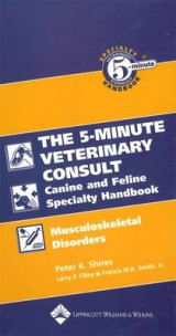 Omslag - The 5-minute Veterinary Consult Canine and Feline Specialty Handbook: Musculoskeletal Disorders