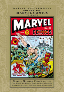 Golden Age Marvel Comics, Volume 5 av Carl Burgos, Bill Everett, Jack Kirby, Paul Gustavson, Ray Gill og Bob Oksner (Innbundet)