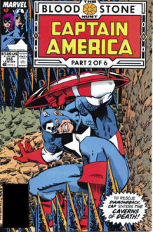 Captain America: Bloodstone Hunt av Mark Gruenwald (Heftet)