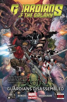 Guardians of the Galaxy: Guardians Disassembled Volume 3 av Brian Michael Bendis (Innbundet)