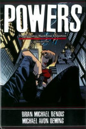 Powers: The Definitive Collection av Brian M Bendis og Michael Avon Oeming (Innbundet)