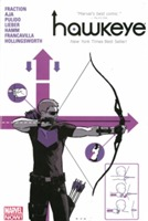 Hawkeye Volume 1 Oversized Hc (marvel Now) av Matt Fraction (Innbundet)