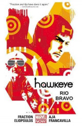 Omslag - Hawkeye: Rio Bravo (Marvel Now) Volume 4