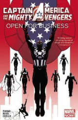 Omslag - Captain America & the Mighty Avengers: Open for Business Volume 1