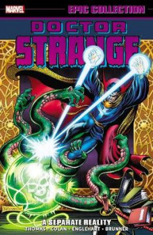 Doctor Strange Epic Collection: A Separate Reality av Steve Englehart, Roy Thomas og Gardner F. Fox (Heftet)