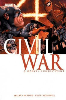 Civil War av Mark Millar (Innbundet)