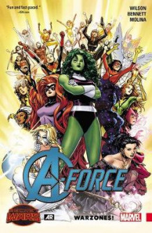 A-Force Volume 0: Warzones! av G. Willow Wilson og Marguerite Bennett (Heftet)