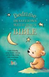Omslag - ICB, Bedtime Devotions with Jesus Bible, Hardcover