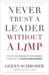 Omslag - Never Trust a Leader Without a Limp