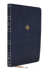 Omslag - NKJV, Reference Bible, Super Giant Print, Leathersoft, Blue, Red Letter, Comfort Print