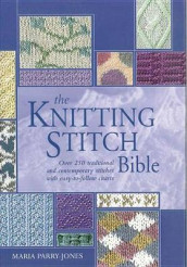 The Knitting Stitch Bible av Maria Parry Jones (Innbundet)