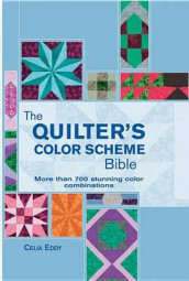 The Quilter's Color Scheme Bible av Celia Eddy (Spiral)