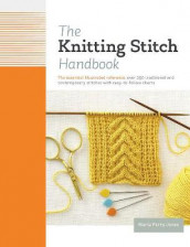The Knitting Stitch Handbook av Maria Parry Jones (Innbundet)