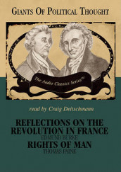 Reflections on the Revolution in France/Rights of Man av Wendy McElroy og George H Smith (Lydbok-CD)