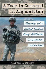 Omslag - A Year in Command in Afghanistan