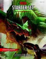 Omslag - Dungeons & Dragons Starter Set (Six Dice, Five Ready-to-Play D&D Characters With Character Sheets, a Rulebook, and One Adventure)