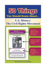 Omslag - 50 Things You Should Know about U.S. History