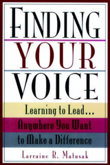 Finding Your Voice av Matusak (Heftet)