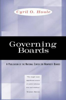 Governing Boards av Cyril O. Houle (Heftet)