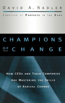 Change Imperative av David A. Nadler og Mark Nadler (Innbundet)