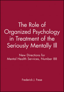 Mhs88 Need Title He Seriouslu Mentally Ill (Issue 88: New Direction s for Mental Health Services-Mhs) av MHS (Heftet)