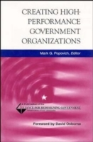 Creating High-Performance Government Organizations (Innbundet)