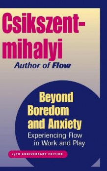 Beyond Boredom and Anxiety av Mihaly Csikszentmihalyi (Innbundet)