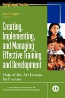 Creating, Implementing, and Managing Effective Training and Development (Innbundet)