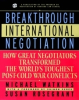 Breakthrough International Negotiation av Michael Watkins og Susan Rosegrant (Heftet)