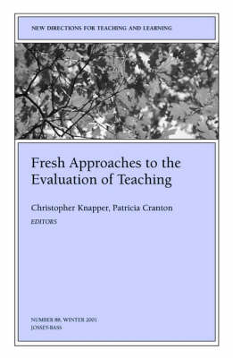 evaluation of teaching and learning approaches Learning approaches & teaching methods  learning approaches & teaching methods learning is this guide aims to provide information on a research/evaluation.