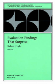Evaluation Findings That Surprise: Summer 2001 Issue 90 (Heftet)
