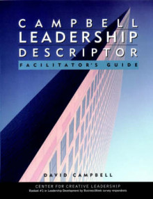 Campbell Leadership Descriptor: Facilitator's Guide Package av David P. Campbell (Heftet)