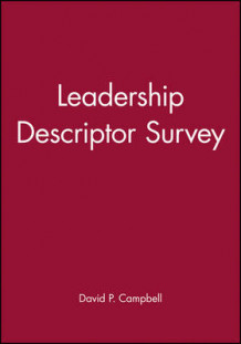 Leadership Descriptor Survey av David P. Campbell (Heftet)