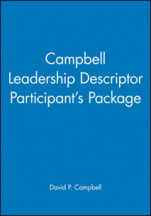 Campbell Leadership Descriptor Participant's Package av David P. Campbell (Heftet)