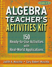 Algebra Teacher's Activities Kit av Judith A. Muschla og Gary R. Muschla (Heftet)