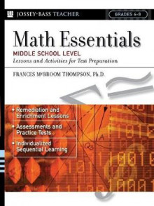 Math Essentials, Middle School Level: 8th Grade av Frances McBroom Thompson (Heftet)