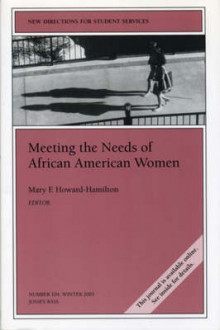 Meeting the Needs of African American Women av Mary F. Howard-Hamilton (Heftet)