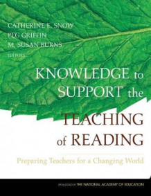 Knowledge to Support the Teaching of Reading (Innbundet)