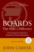 Boards That Make a Difference av Carver (Innbundet)
