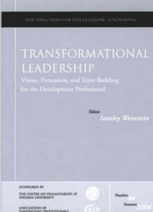 Transformational Leadership av Philanthropic Fundraising (PF) (Heftet)