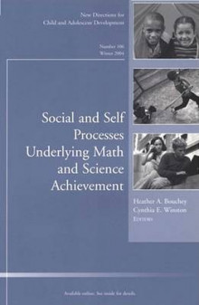 Social and Self Processes Underlying Math and Science Achievement av CAD Perfect Corporation (Heftet)