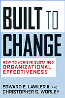 Built for Change av Lawler og Christopher G. Worley (Innbundet)